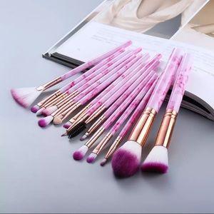 NEW 15Pcs Makeup Brushes Tool Set Cosmetic…